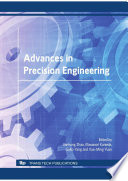 Advances in Precision Engineering Book
