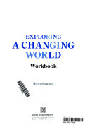 Exploring a Changing World Student Workbook