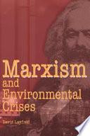 Marxism and Environmental Crises Pdf/ePub eBook