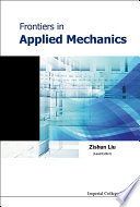 Frontiers in Applied Mechanics