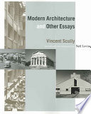 Modern Architecture and Other Essays