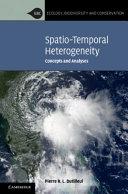 Spatio-Temporal Heterogeneity