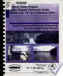 Central Valley Project Water Supply Contracts Under Public Law 101 514  Section 206   vol  II  Appendices