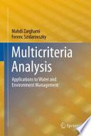 Multicriteria Analysis