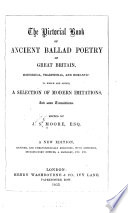 The Pictorial Book Of Ancient Ballad Poetry Of Great Britain