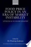 Food Price Policy in an Era of Market Instability