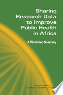 Sharing Research Data to Improve Public Health in Africa
