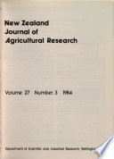 New Zealand Journal of Agricultural Research Pdf/ePub eBook