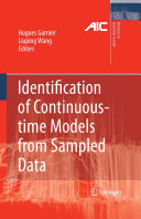 Identification of Continuous-time Models from Sampled Data