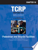 Pedestrian and Bicycle Facilities