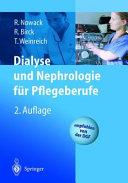 Dialyse und Nephrologie f  r Pflegeberufe