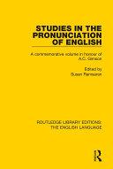 Studies in the Pronunciation of English [Pdf/ePub] eBook
