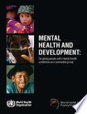 Mental Health and Development