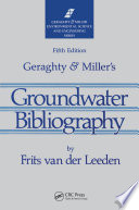 Geraghty   Miller s Groundwater Bibliography  Fifth Edition