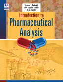 Introduction to Pharmaceutical Analysis