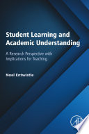 Student Learning and Academic Understanding