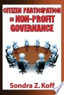 Citizen Participation In Non Profit Governance