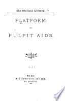 Platform and Pulpit Aids