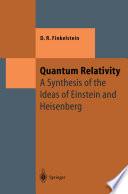 Quantum Relativity Book PDF