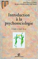 Pdf Introduction à la psychosociologie Telecharger