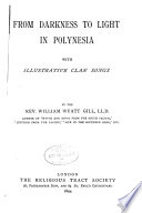 From Darkness to Light in Polynesia Book