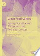 Urban Food Culture Book