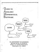 Guide to Available Mathematical Software
