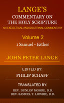 Pdf Lange's Commentary on the Holy Scripture, Volume 2 Telecharger