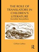 Pdf The Role of Translators in Children's Literature