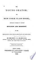 The Young Orator and New York Class Book
