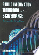 Public Information Technology And E Governance