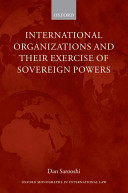 Download International Organizations and their Exercise of Sovereign Powers PDF