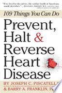 Prevent  Halt   Reverse Heart Disease Book