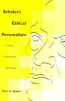 Scheler's ethical personalism