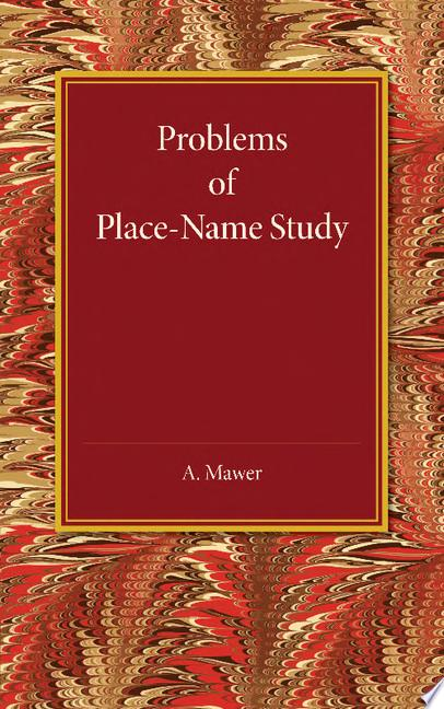 Problems of Place Name Study
