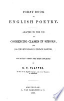 First Book of English Poetry
