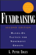 Fundraising  Hands On Tactics for Nonprofit Groups Book