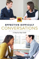 Effective Difficult Conversations Book