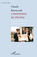 L'invention du peuple