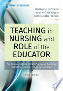 Teaching in Nursing and Role of the Educator  Third Edition