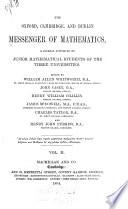 The Oxford, Cambridge, and Dublin Messenger of Mathematics  , Volume 2