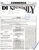 Commerce Business Daily