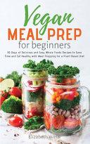 Vegan Meal Prep for Beginners Book PDF