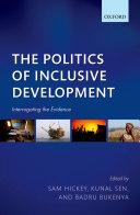 Pdf The Politics of Inclusive Development