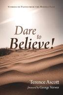 Dare to Believe! Pdf/ePub eBook