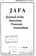 The Journal of the American Forensic Association