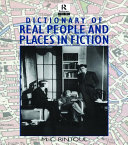 Pdf Dictionary of Real People and Places in Fiction Telecharger