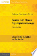"""Seminars in Clinical Psychopharmacology"" by Peter M. Haddad, David J. Nutt"