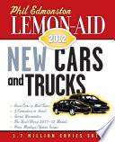 Lemon-Aid New Cars and Trucks 2012