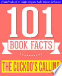 The Cuckoo s Calling   101 Amazingly True Facts You Didn t Know